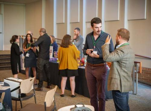 Audience networking at HEI Boulder Conference